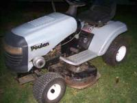 "Poulan 12Hp.-38"" Cut Serviced---275.00------NO Email"