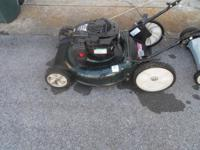I have an almost new poulan mower with a briggs and