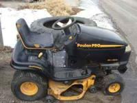 I HAVE FOR SALE A USED RIDING MOWER. I JUST HAD THE