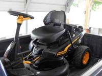 "I have a ""very nice"" Poulon Pro Riding Lawnmower. 11.5"