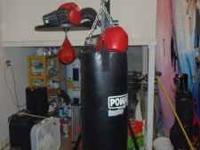 I have a PowAir water bag with Everlast stand and speed