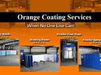 Our facility is a full service custom coatings shop