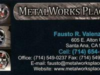 Orange County, CA Powder Coating MetalWorks Place