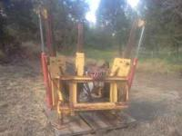 Powell tree spade for skid steer. Model # TD32 $4500