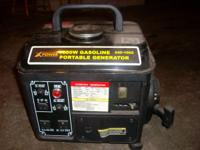 POWER(Brand name) 1000 watt gasoline portable generator