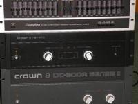 Vintage Crown DC300 A series 2-175 -obo CrownPS 200---