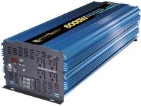 Get power on the go. This heavy duty Power Inverter