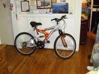 "For Sale: A NEXT 24"" Mens Mountain Bicycle, 18 speed,"
