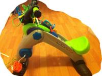 The Fisher-Price Smart Cycle Racer Physical Learning