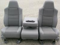 Gray Power F250 F350 Seats. This is a brand-new secure