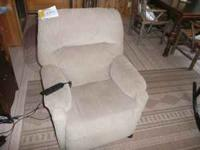 Power Lift/Recliner Chair - Tan purchased new 10/25/10