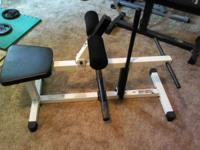 Power line calf raise machine in good condition, $75