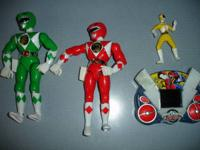 Selling this lot of four PowerRangers toys.  This lot