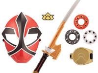 Become a Power Rangers Samurai hero with this cool