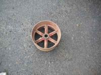 Power take off wheel-came off a farmall Super C Call