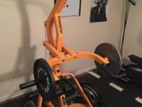 Powertec Workbench Levergym WB-LS14 Yellow hardly used.