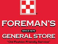 Foreman's General Store is a proud full service dealer