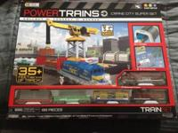 Up for sale is a brand new Power Trains Crane City