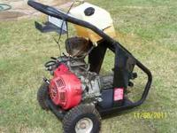 honda 13 h.p. 3200 psi 300.00 gt 42 pull type mower 14