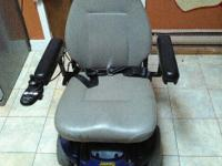 Its a Jazzy power wheelchair has two brand new