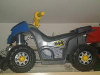 Batman 4 wheeler kids quad...  works perfect only $25.