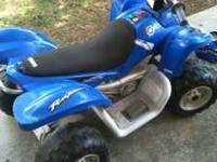 Great Condition 4 wheeler comes with charger and 2