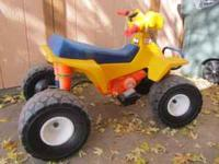 Power Wheels 4X4 ride on toy with rechargeable battery
