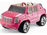 Used ... Barbie Escalade, Pink with new battery. It has