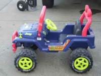 Power Wheels Jeep - 6 volt - $50.00 Cash only - call
