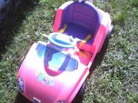 Power wheels tot rod car (like new) $65...... toy was