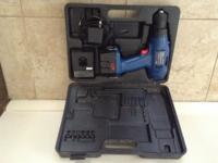 POWER PRO CRAFT CORDLESS DRILL 12 V WITH BLACK HARD