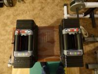 For sale is one pair of PowerBlock Classic 50 Plus