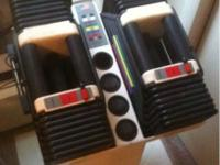 Powerblocks Pro and Stand 5-90lbs priced to sell at