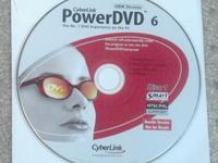 PowerDVD 6CD & DVD burning softwareIncluded on CD: