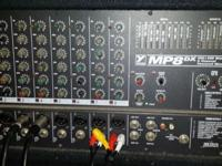 Yorkville MP8 8 channel powered mixer with equalizers,
