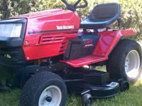 I am selling my MTD riding lawnmower. Its a powerhouse!