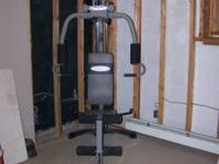 Nice beginners home gym, this machine is like new paid