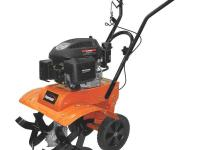 The Powermate 139 cc Front Tine Tiller incorporates a