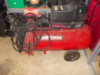 This Powermate 80 gallon air compressor is brand new,