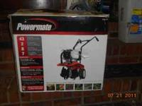 "Powermate cultivator 43cc engine 2-cycle 8"" tines 7"""