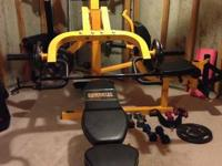 I am selling my Powertec home gym due to moving