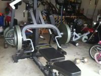 This is a Powertec professional Gym. Consistently kept