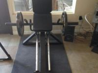 Simply Reduced ... Used Powertec Strength Leg Press