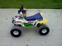 Kawasaki Ninja 4 wheeler,Very Good Cond. Batteries are
