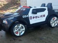 12v Kid Trax Police Cruiser. Very Good Condition!