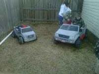 I have two powerwheels trucks for sale. They both work