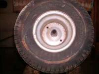 pair of mounted Rear tires for Craftsman, Murry, Etc.
