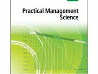 """Practical Management Science 4th Ed""   UofH paper"