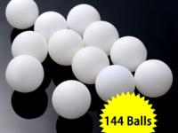 This is our practice ping pong balls. Its the pack of