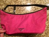 Prada pink purse, 1 year old. Small purse, good